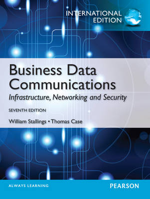 Business Data Communications: Infastructure, Networking and Security (Mixed media product)