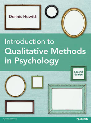 Introduction to Qualitative Methods in Psychology (Paperback)