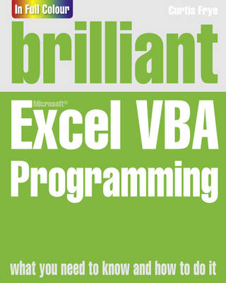 Brilliant Excel VBA Programming (Paperback)