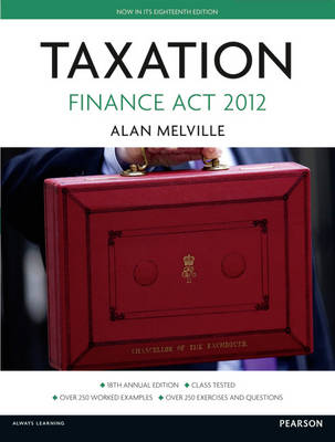 Taxation: Finance Act 2012 (Paperback)