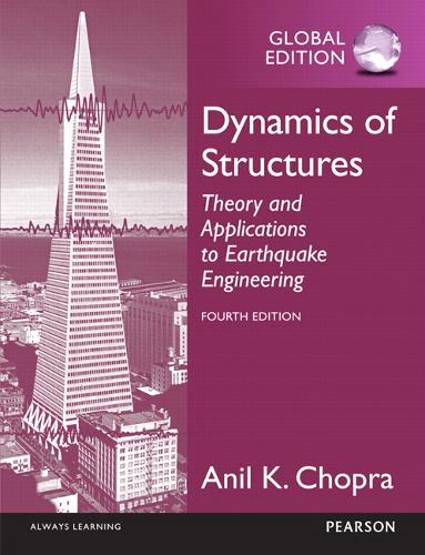 Dynamics of Structures: Theory and Applications to Earthquake Engineering (Paperback)