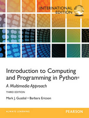 Introduction to Computing and Programming in Python (Paperback)