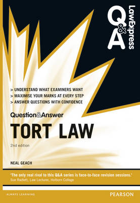 Law Express Question and Answer: Tort Law - Law Express Questions & Answers (Paperback)