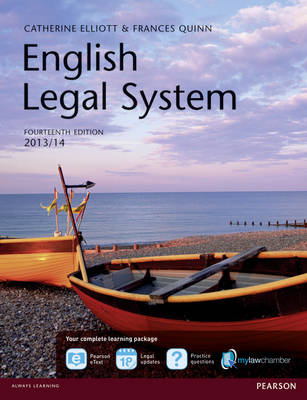 English Legal System MyLawChamber Premium Pack (Mixed media product)