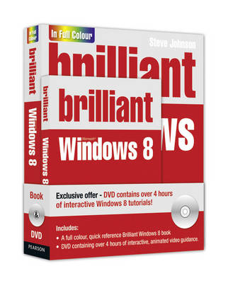 Brilliant Windows 8 Book and DVD Pack (Mixed media product)