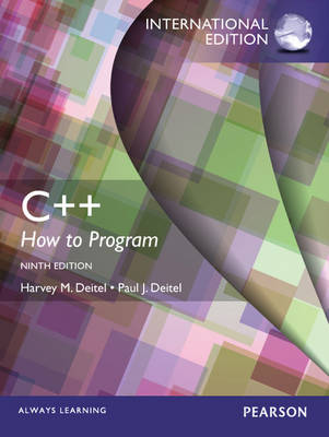 C++ How to Program: Early Objects Version (Mixed media product)