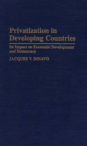 Privatization in Developing Countries: Its Impact on Economic Development and Democracy (Hardback)