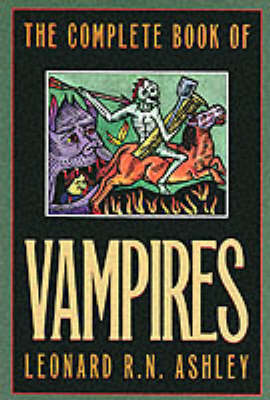 The Complete Book of Vampires (Paperback)