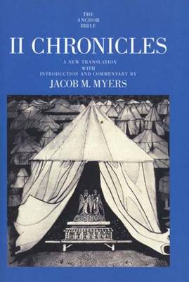 II Chronicles - The Anchor Yale Bible Commentaries (Paperback)