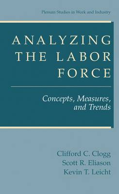 Analyzing the Labor Force: Concepts, Measures and Trends - Springer Studies in Work and Industry (Hardback)