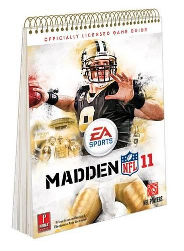 Madden NFL 11: Prima's Official Game Guide (Spiral bound)