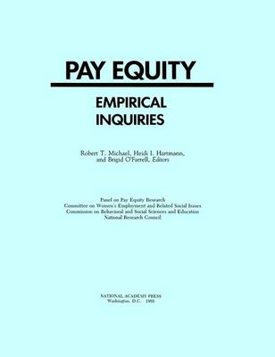 Pay Equity: Empirical Inquiries (Paperback)
