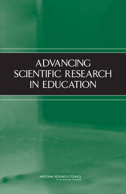 Cover Advancing Scientific Research in Education
