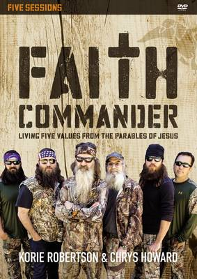 Faith Commander: Living Five Values from the Parables of Jesus (DVD video)