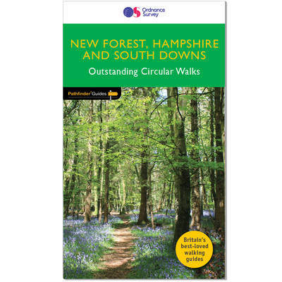 Cover New Forest, Hampshire & South Downs 2016 - Pathfinder Guides PF12