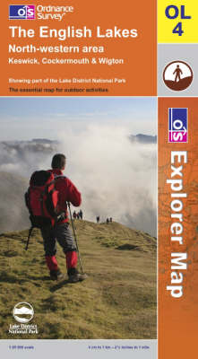 The English Lakes: North Western Area - OS Explorer Map Sheet OL04 (Sheet map, folded)