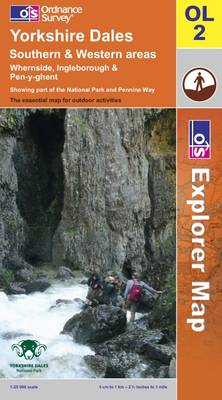 Yorkshire Dales: Southern and Western Areas - OS Explorer Map Sheet OL02 (Sheet map, folded)