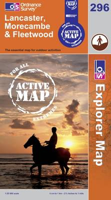 Lancaster, Morecambe and Fleetwood - OS Explorer Map Active No. 296 (Sheet map, folded)