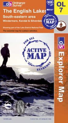 The English Lakes - South Eastern Area - OS Explorer Map Active Sheet OL07 (Sheet map, folded)