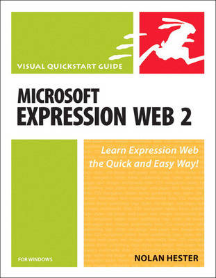 Microsoft Expression Web 2 for Windows - Visual QuickStart Guides (Paperback)