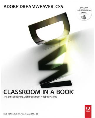Adobe Dreamweaver CS5 Classroom in a Book (Mixed media product)