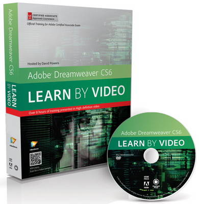 Adobe Dreamweaver CS6: Learn by Video: Core Training in Web Communication (Mixed media product)