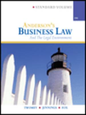 Anderson's Business Law and Legal Environment, Standard (Hardback)