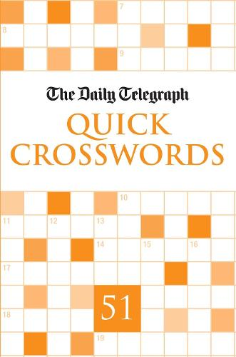 """Daily Telegraph"" Quick Crosswords 51: 51 (Paperback)"