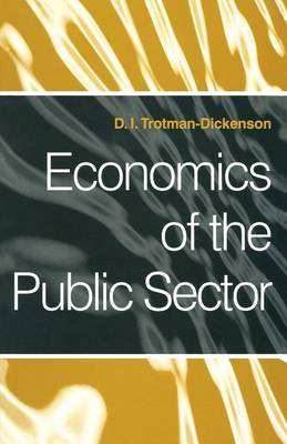 Economics of the Public Sector (Paperback)