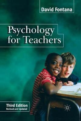 Psychology for Teachers - Psychology for Professional Groups S. (Paperback)