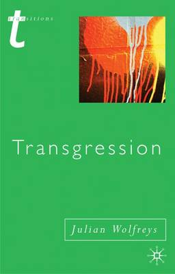 Transgression: Identity, Space, Time - Transitions (Paperback)