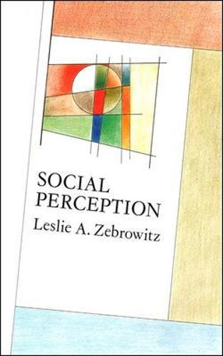 Social Perception - Mapping Social Psychology (Paperback)