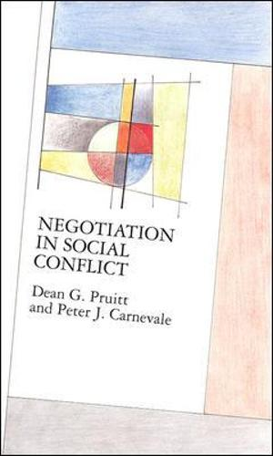 Negotiation in Social Conflict - Mapping Social Psychology (Paperback)