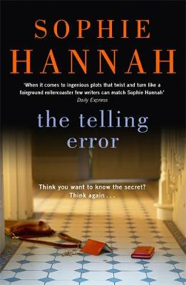 The Telling Error - Culver Valley Crime 9 (Hardback)