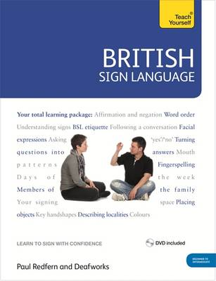 British Sign Language: Teach Yourself: Book and DVD Pack (Mixed media product)