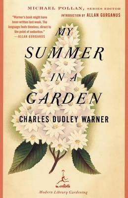 My Summer in a Garden - Modern Library (Paperback)