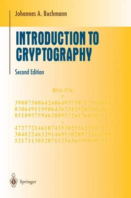 Introduction to Cryptography - Undergraduate Texts in Mathematics (Paperback)