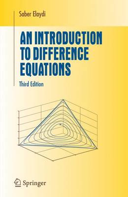 An Introduction to Difference Equations - Undergraduate Texts in Mathematics (Hardback)