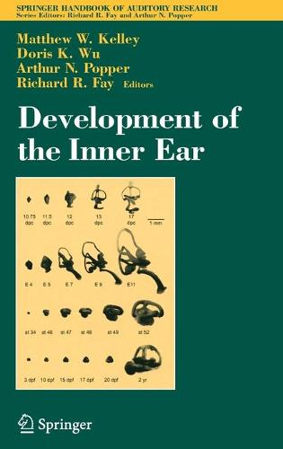 Development of the Inner Ear - Springer Handbook of Auditory Research v.26 (Hardback)
