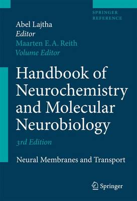 Cover Handbook of Neurochemistry and Molecular Neurobiology 2010
