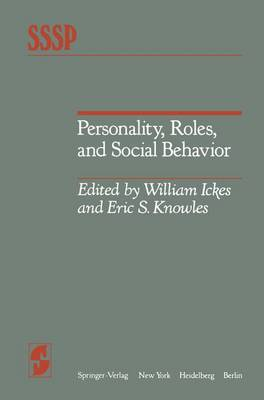 Personality, Roles and Social Behaviour (Hardback)