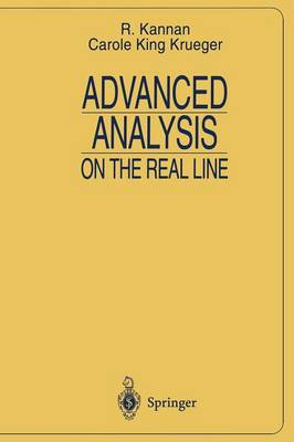 Advanced Analysis on the Real Line - Universitext (Paperback)