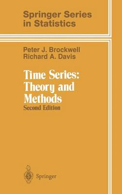Time Series: Vol 2: Theory and Methods - Springer Series in Statistics (Hardback)