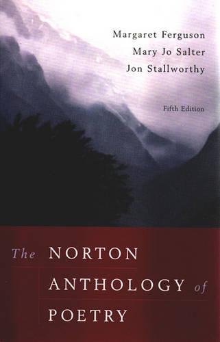 The Norton Anthology of Poetry (Paperback)