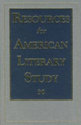 Resources for American Literary Study (Rals) (Hardback)