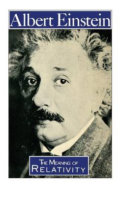 The Meaning of Relativity - Science Paperbacks (Paperback)