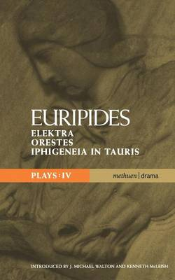 "Euripides Plays: ""Elektra"", ""Orestes"" and ""Iphigeneia in Tauris"" - Classical Dramatists (Paperback)"