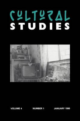 Cultural Studies: Volume 4, Issue 1 (Paperback)
