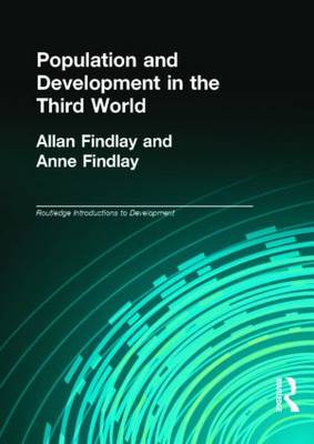 Population and Development in the Third World - Routledge Introductions to Development (Paperback)