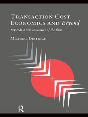Transaction Cost Economics and Beyond: Toward a New Economics of the Firm (Hardback)